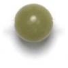 Semi-Precious 6mm Round Olivine Jade